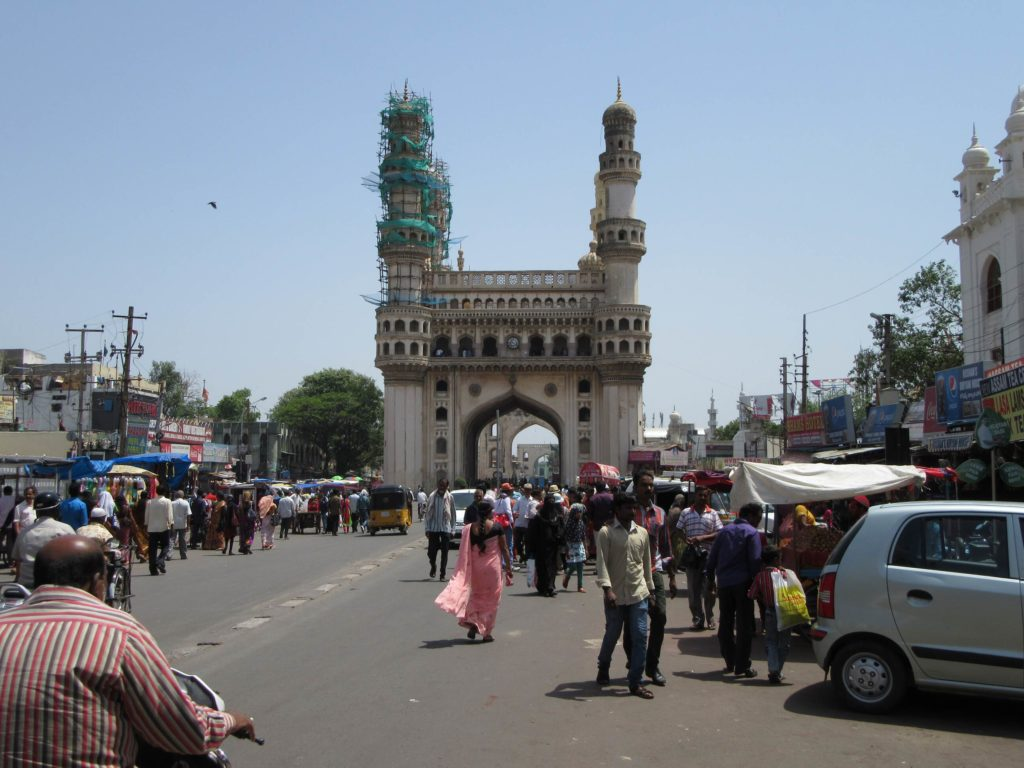 Das Charminar in Hyderabad.