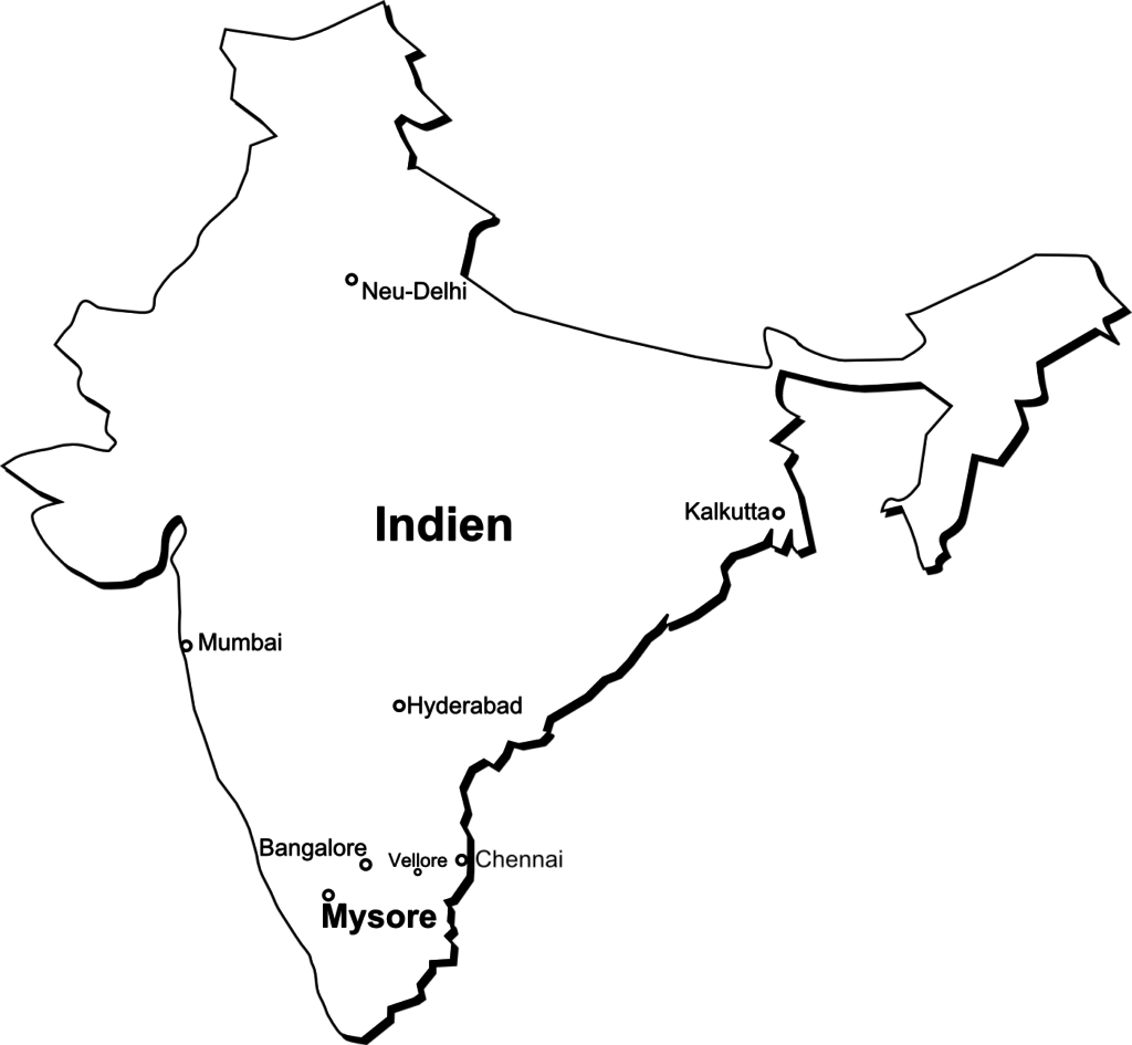 Hier liegt Mysore