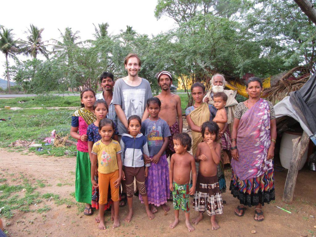 """Zu Besuch bei den """"Gypsies"""" in Katpadi..."""
